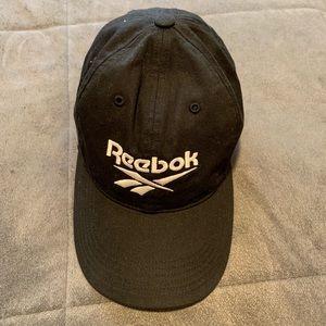 Reebok black dad hat
